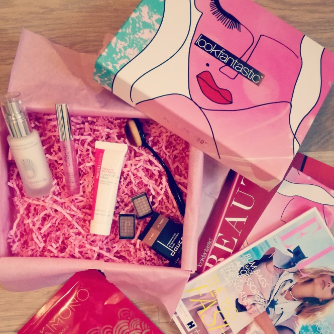 lookfantastic box de mars