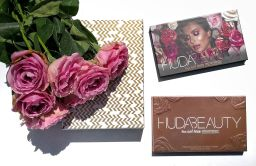 La palette Rose Gold Remastered d'Huda Beauty : Comparatif avec la première palette Rose Gold.