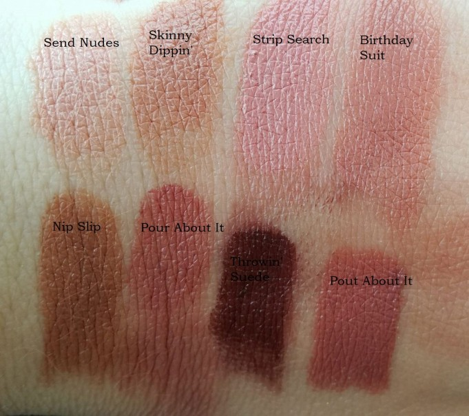 Swatch Natural Lipstick Too Faced