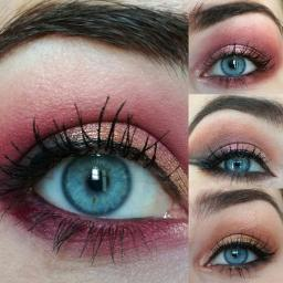 Tutos : 1 palette, 4 looks, avec la Rose Gold Palette d'Huda Beauty.