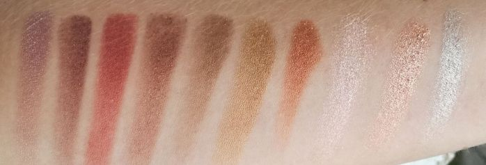 Swatch heavy metal palette