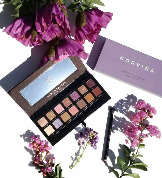 Norvina Palette et packaging
