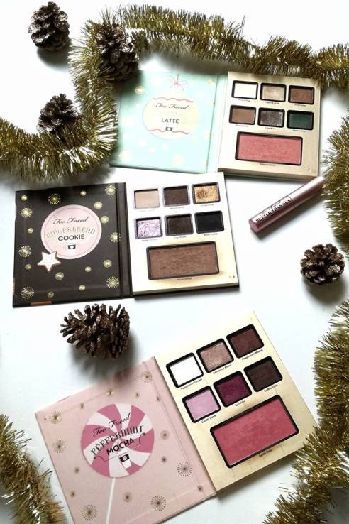 Collection noel Too faced