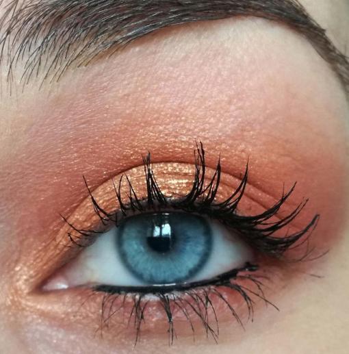 maquillage Topaz