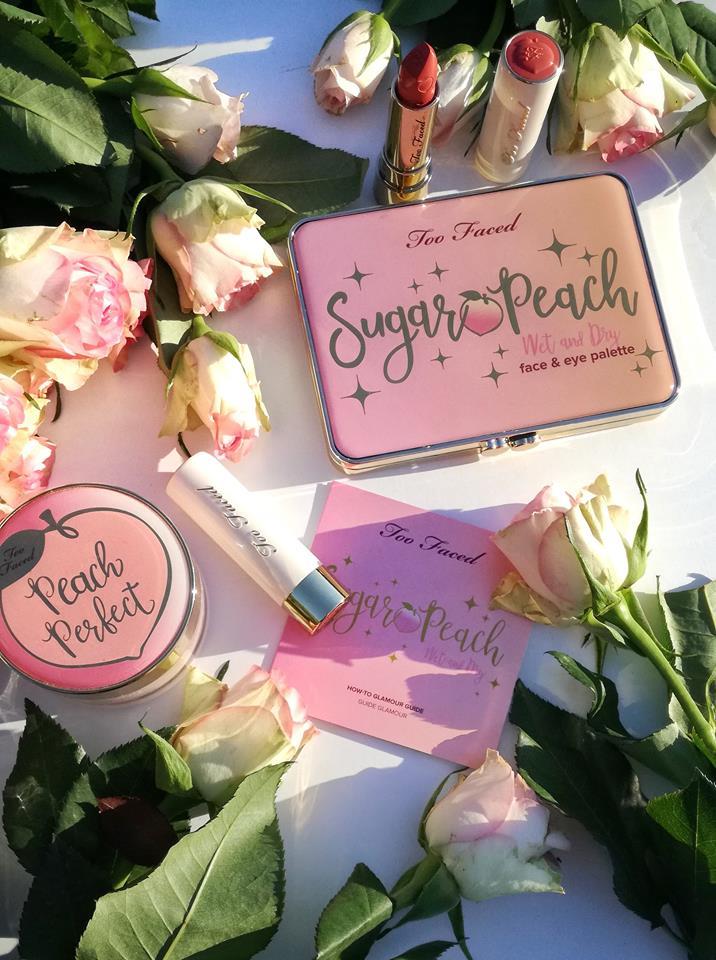 Sugar Peach face palette