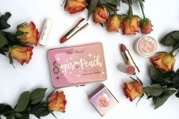 Coup de foudre pour la nouvelle collection Peaches and Cream de Too faced