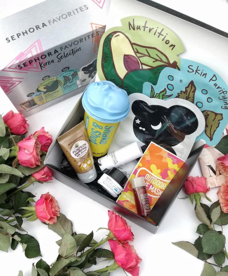Sephora favorites Korea selection