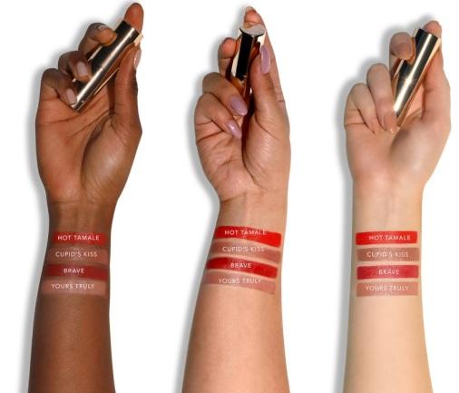 swatch ultimate lipstick love becca