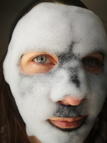 masque à bulles