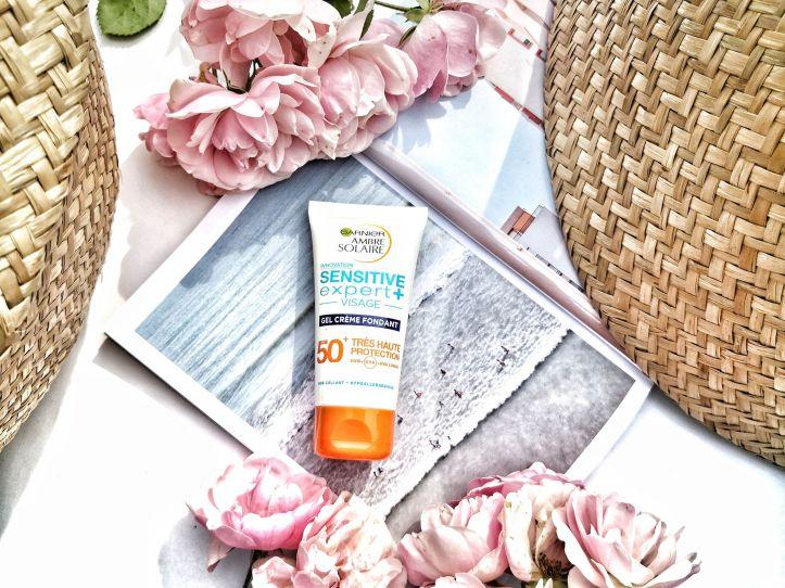 crème solaire Garnier sensitive expert