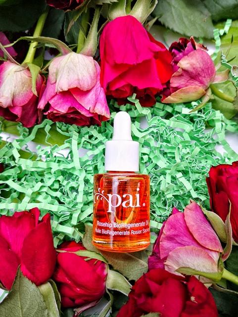 Pai huile rose