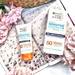 Se protéger du soleil pour une peau plus belle, avec Garnier Sensitive Expert+