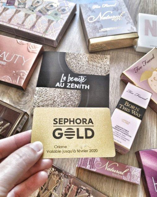 Sephora Gold avantages