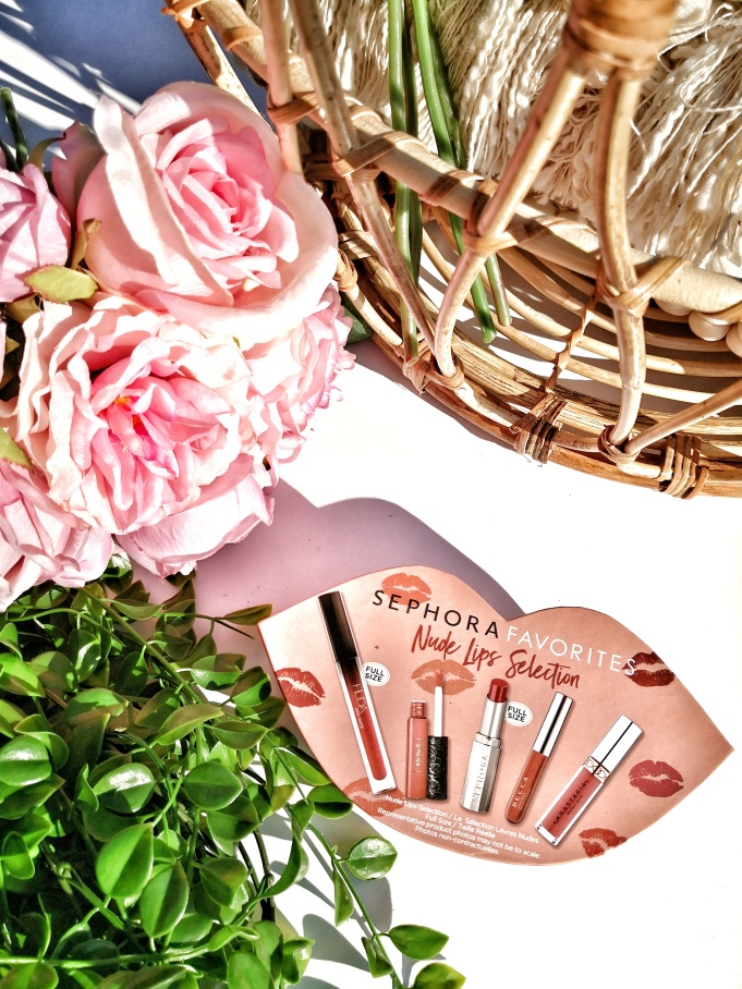 Sephora Favorites nude lips selection