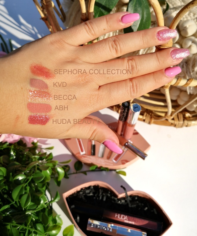 Swatches Nude Lips Selection