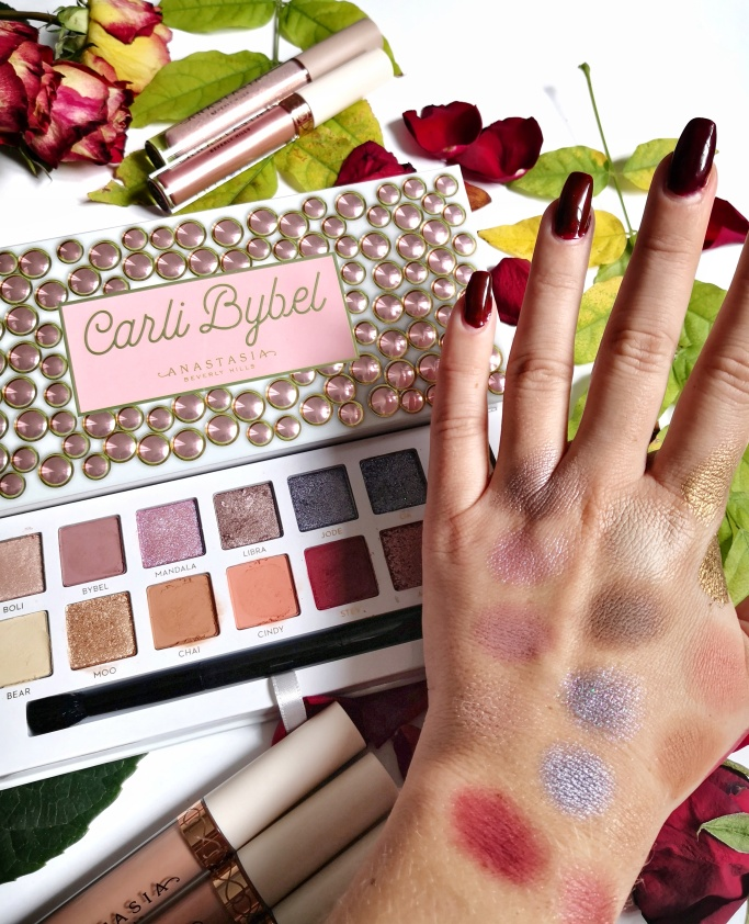 Swacthes Palette Carli Bybel