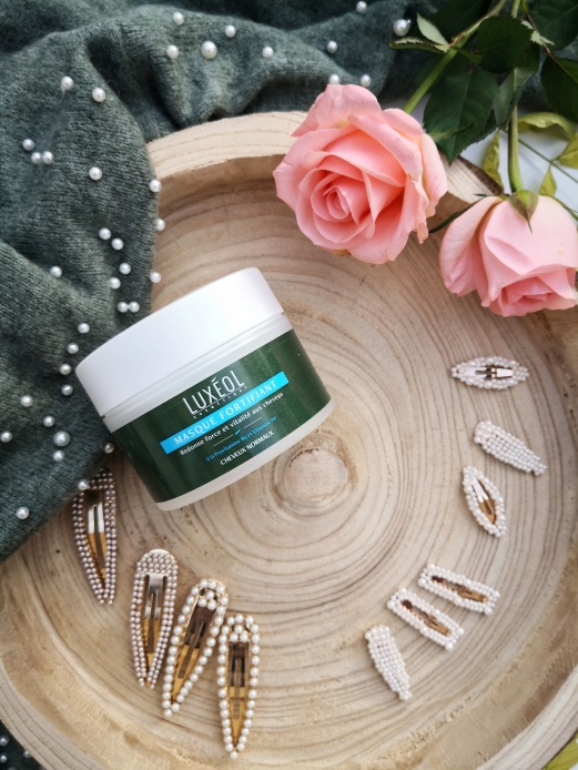 Masque fortifiant cheveux Luxéol
