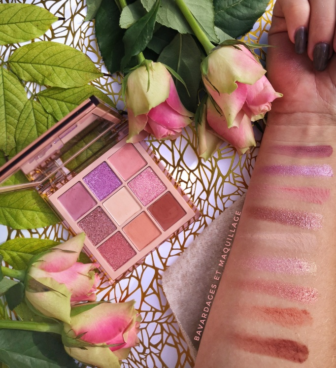 swatches Light palette Huda