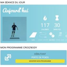 Croq'Body : Perte de poids, renforcement musculaire et bien être