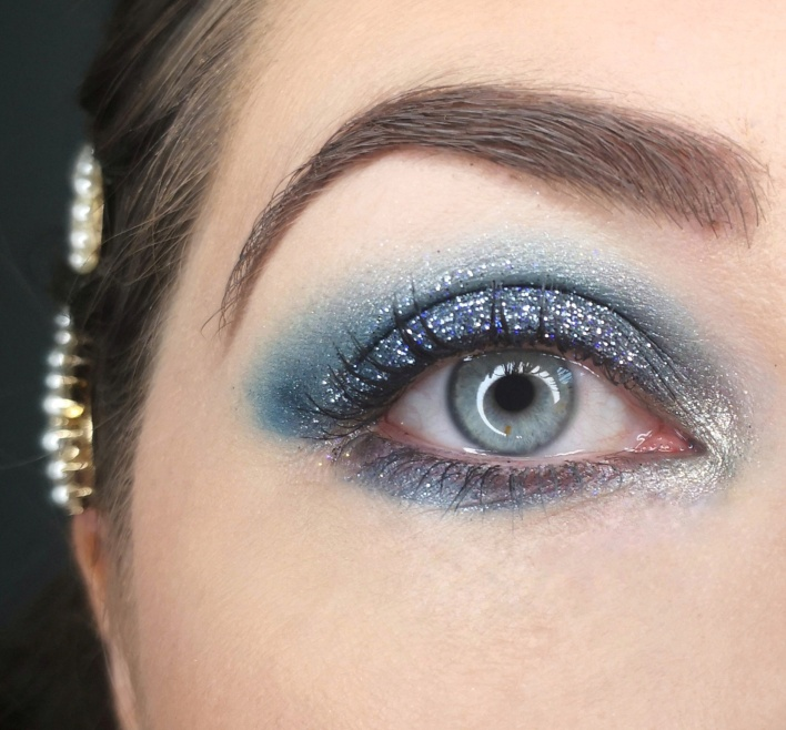 tuto makeup winter wonder glam