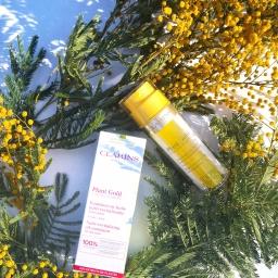 Plant Gold de Clarins, l'Or des Plantes au service de la peau