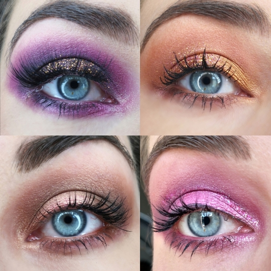 Tuto makeup amrezy palette