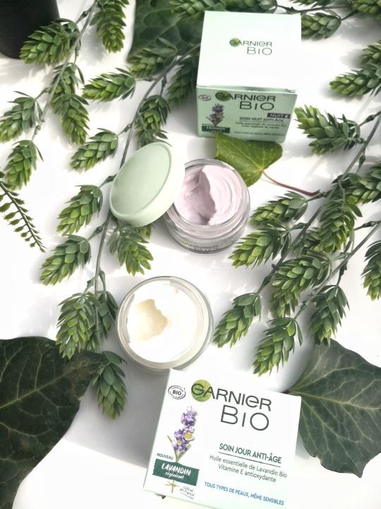 crèmes Bio Garnier