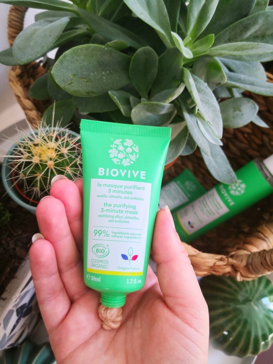 masque purifiant biovive