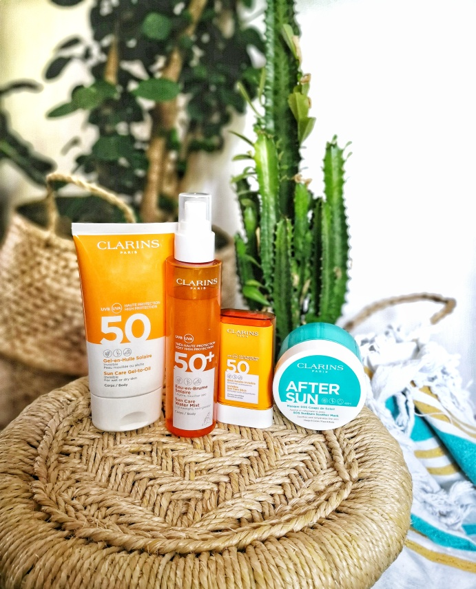 soins solaires Clarins