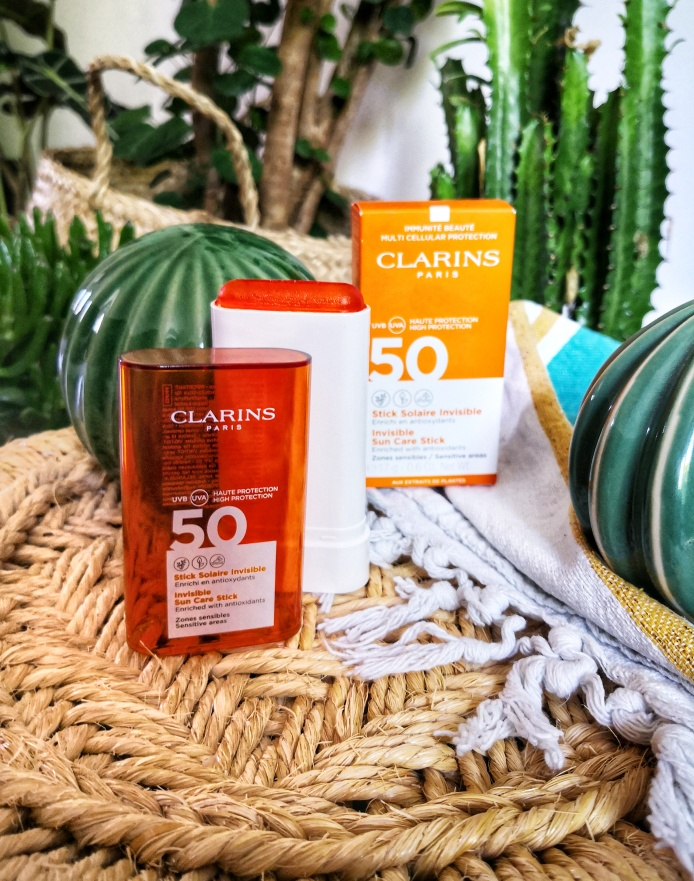 stick solaire clarins