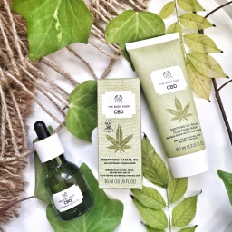 La gamme au CBD de The Body Shop